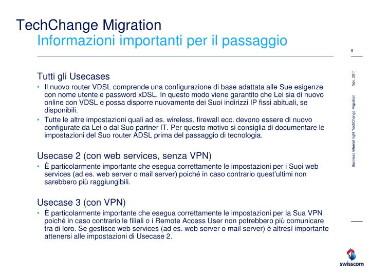 TechChange Migration