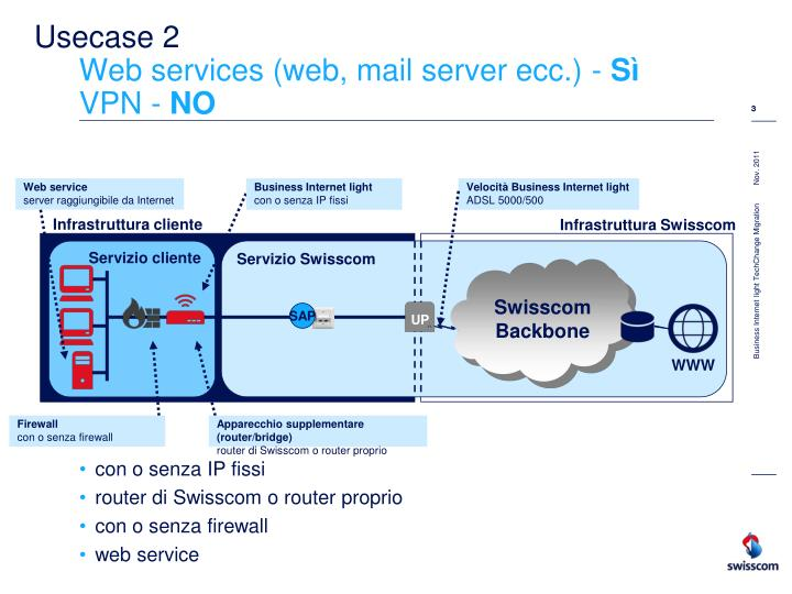 Usecase 2 web services web mail server ecc s vpn no