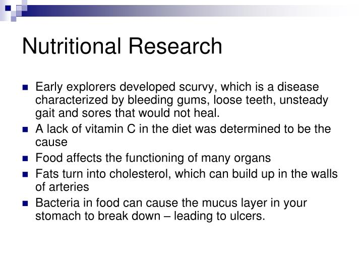 Nutritional Research
