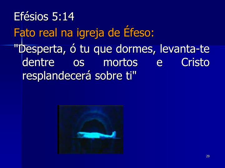 Efésios 5:14
