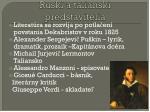 rusk a talianski predstavitelia