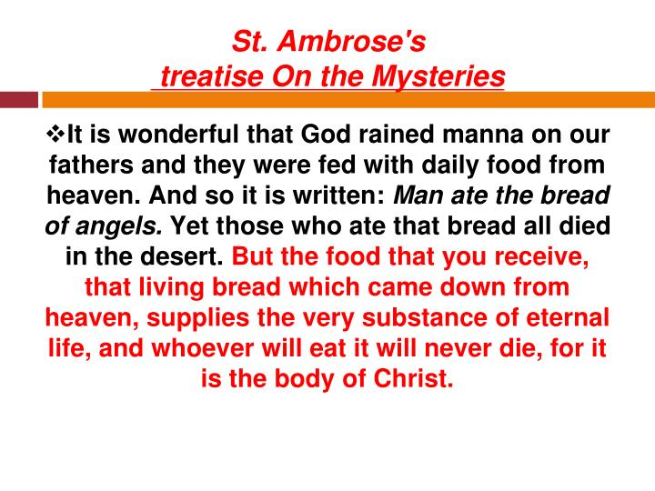 St. Ambrose's