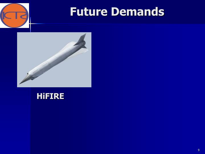 Future Demands