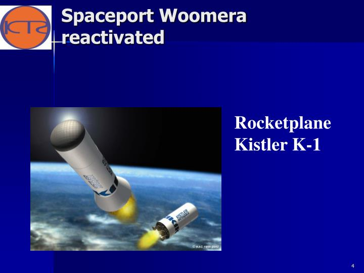Spaceport Woomera reactivated