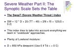 severe weather part ii the synoptic scale sets the table12