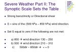 severe weather part ii the synoptic scale sets the table15