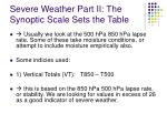 severe weather part ii the synoptic scale sets the table5