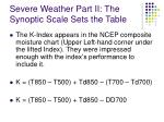 severe weather part ii the synoptic scale sets the table8