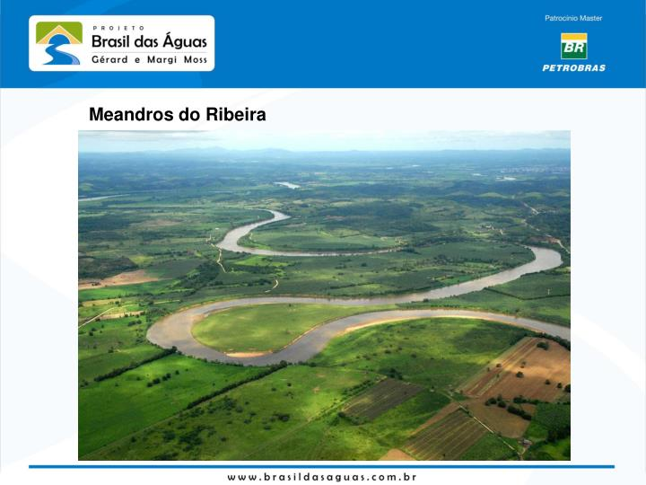 Meandros do Ribeira