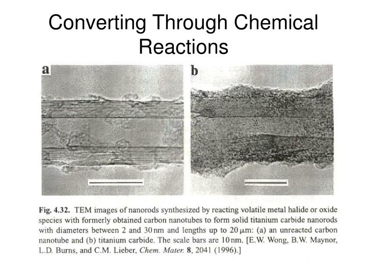 Converting Through Chemical Reactions