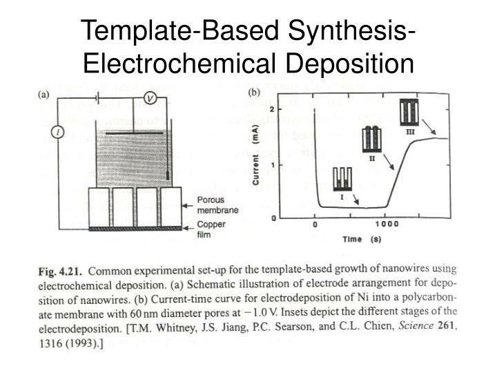 Template-Based Synthesis-Electrochemical Deposition