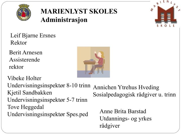 MARIENLYST SKOLES