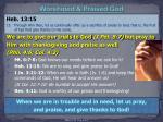 worshiped praised god1