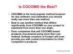 is cocomo the best