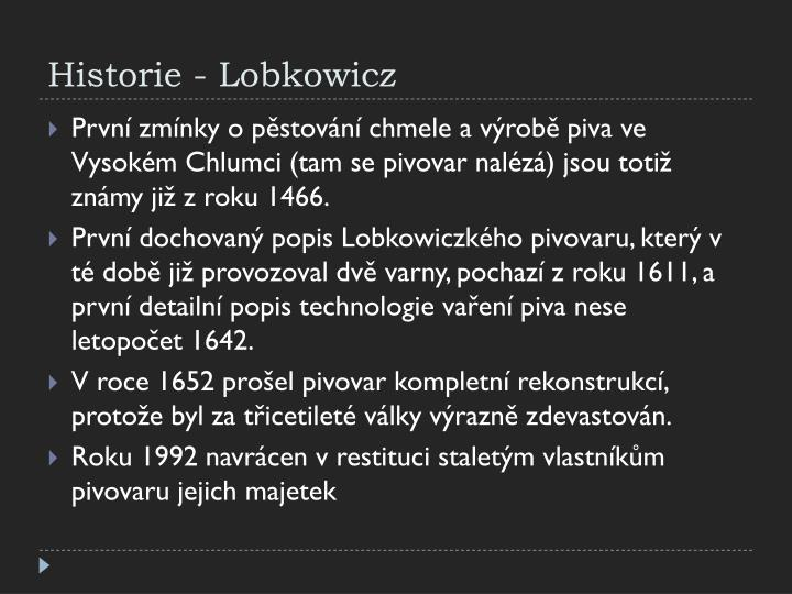 Historie -