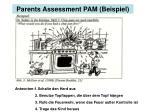 parents assessment pam beispiel