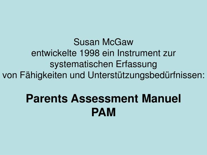 Susan McGaw