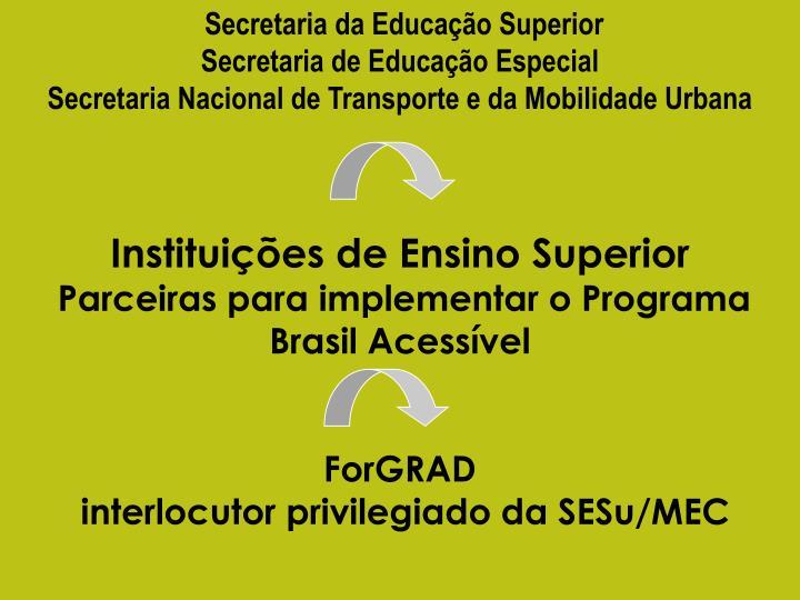 Secretaria da Educação Superior