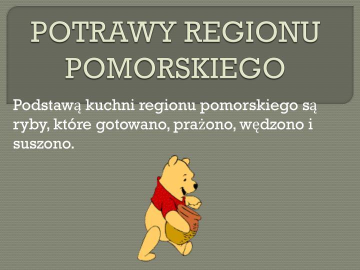 POTRAWY REGIONU POMORSKIEGO