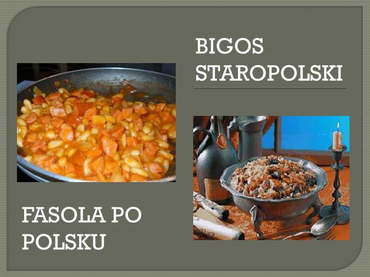 FASOLA PO POLSKU