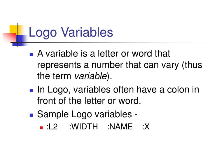 Logo Variables