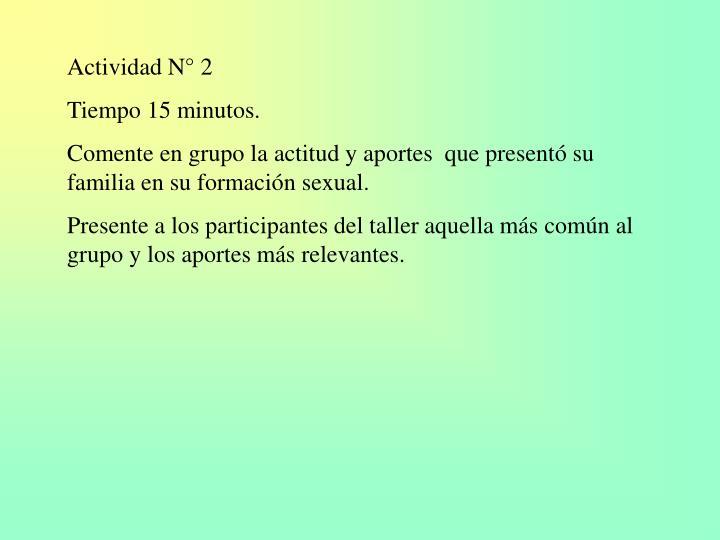 Actividad N° 2