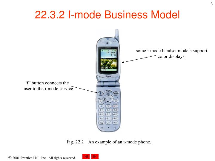 some i-mode handset models support            color displays