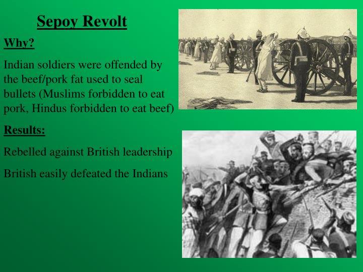 Sepoy Revolt