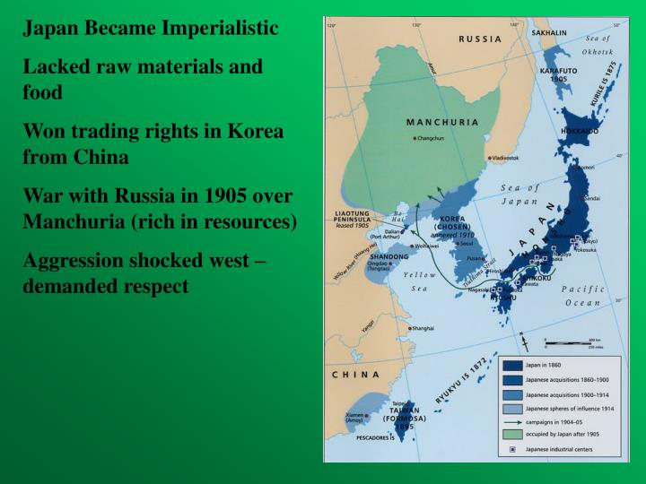 Japan Became Imperialistic