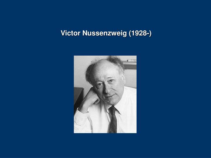 Victor Nussenzweig (1928-)