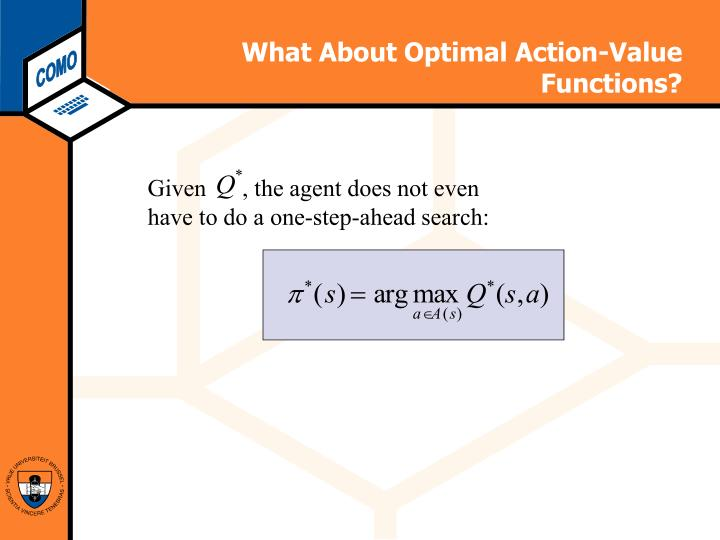 What About Optimal Action-Value Functions?