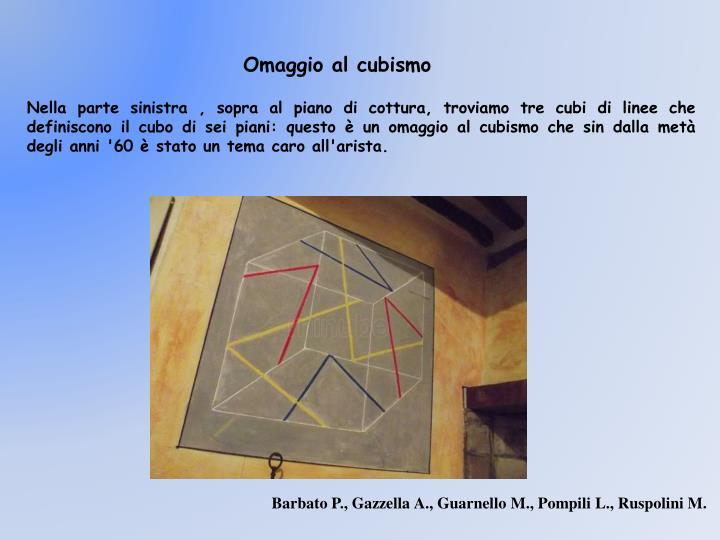 Omaggio al cubismo
