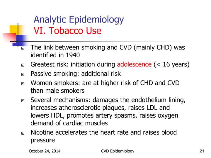 Analytic Epidemiology