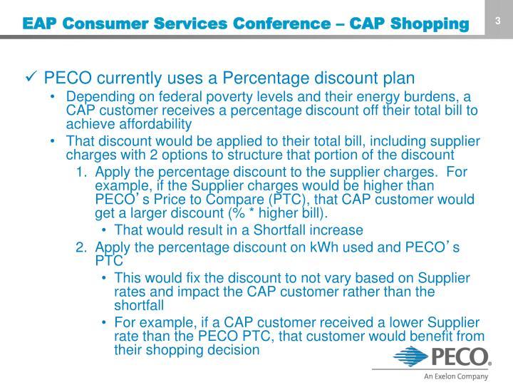 EAP Consumer Services Conference – CAP Shopping
