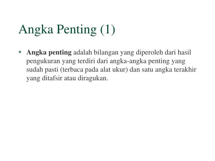 Angka Penting (1)