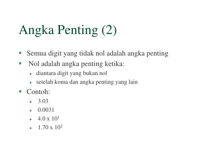 Angka Penting (2)