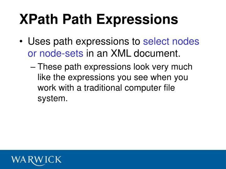 XPath Path Expressions