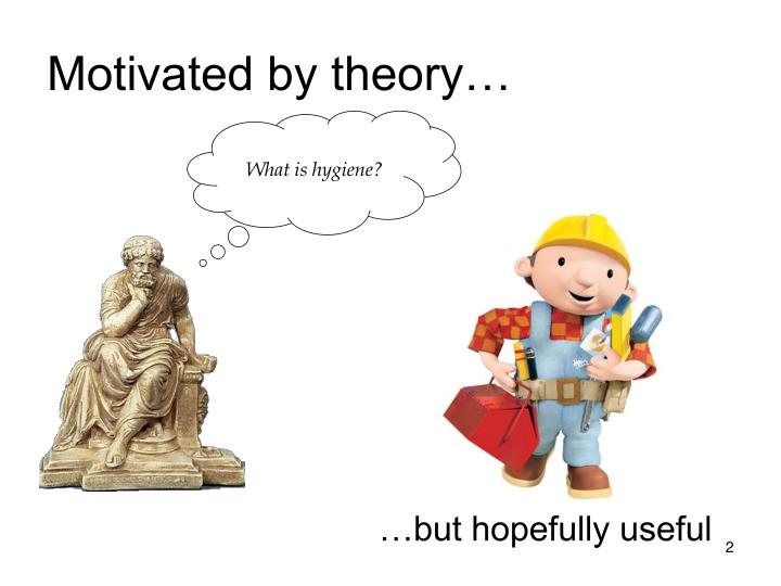 Motivated by theory…