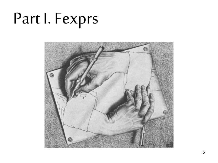 Part I. Fexprs