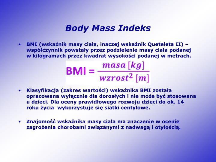Body Mass Indeks