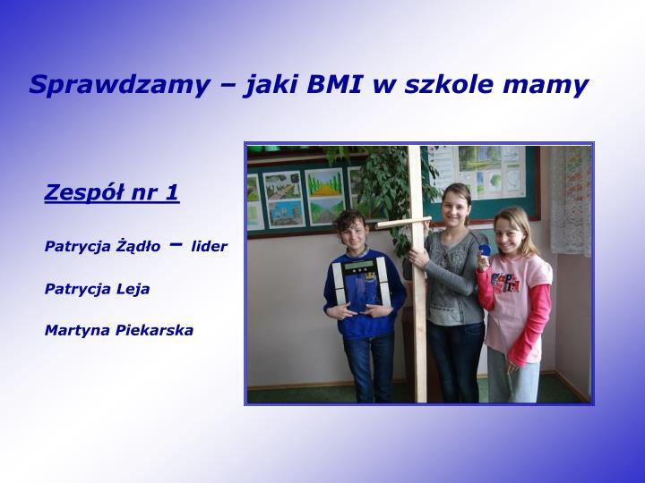 Sprawdzamy – jaki BMI w szkole mamy