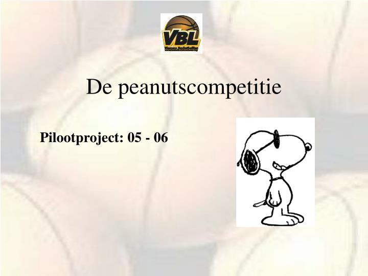 De peanutscompetitie