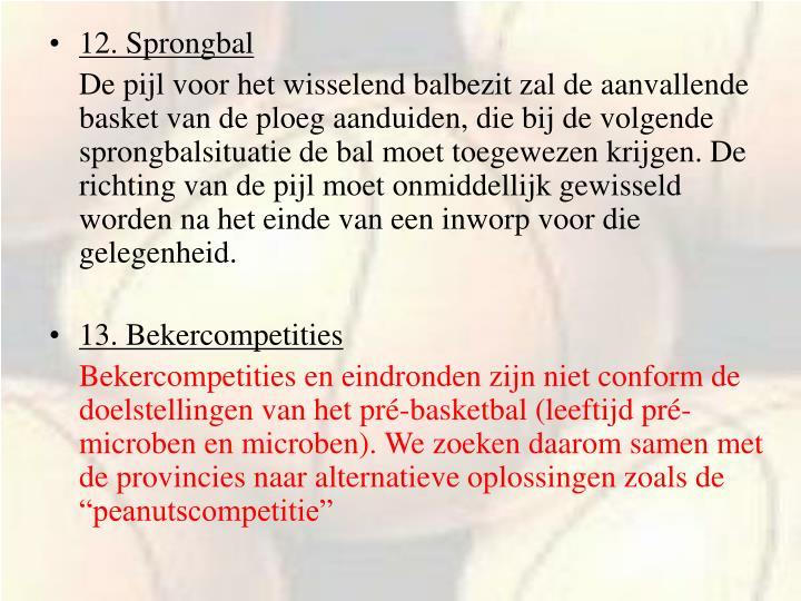12. Sprongbal