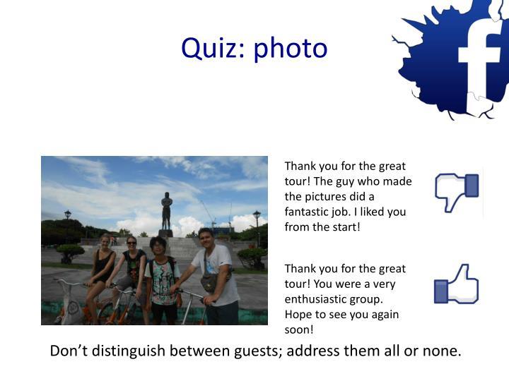 Quiz: photo