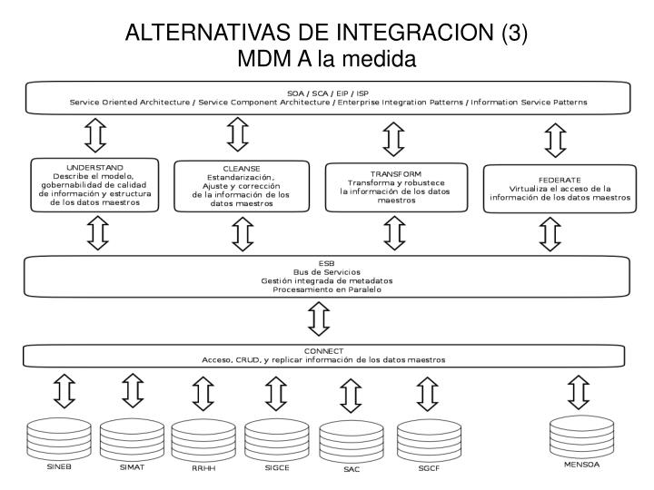 ALTERNATIVAS DE INTEGRACION (3)