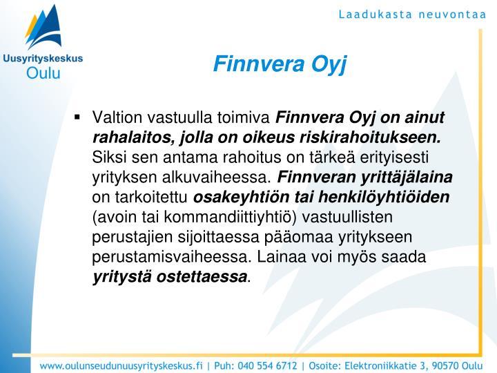 Finnvera Oyj