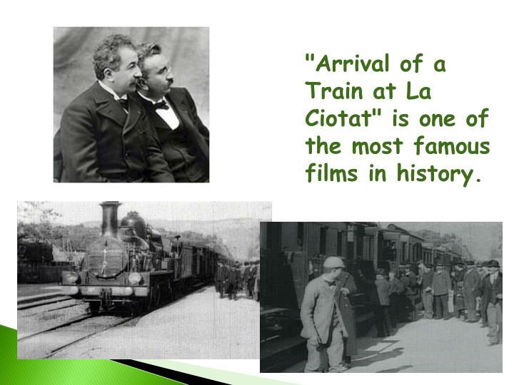 """Arrival of a Train at La"