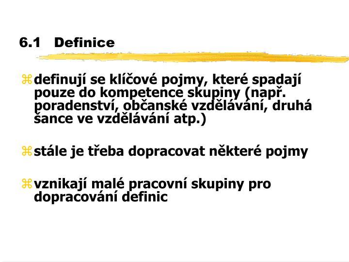 6.1Definice
