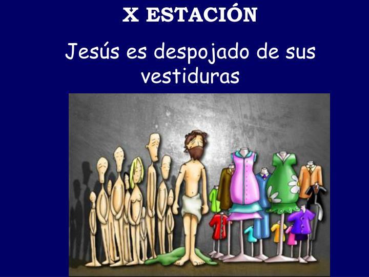X ESTACIÓN