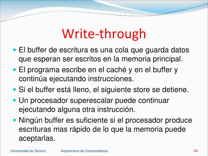 Write-through
